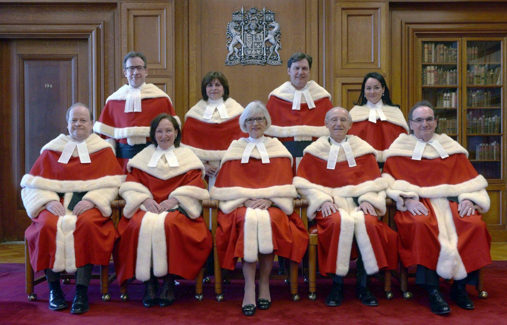 Les juges… et la jugeote des libéraux