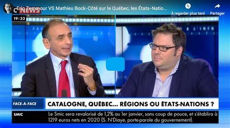 Éric Zemmour et le Québec